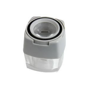 ルーペ スケールルーペ 8倍 24mm 0.1mm 目盛付き 測量 検査用 高倍率ルーペ|loupe