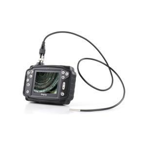工業用内視鏡 φ4.5mm 1m ファイバースコープ 配管内部 検査 カメラ モニター付き 点検 作業 ケーブルカメラ おすすめ 業務用 3R-VFI|loupe
