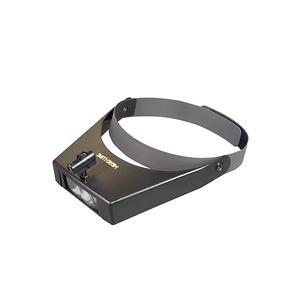 ヘッドルーペ LEDライト付き ヘッドバンド式 59LED 虫眼鏡|loupe