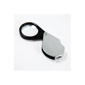 ルーペ 虫眼鏡 繰り出しルーペ 7850 4倍 30mm 携帯用 池田レンズ|loupe
