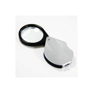 ルーペ 虫眼鏡 繰り出し ポケットルーペ 7950 4倍 36mm 携帯用 池田レンズ|loupe