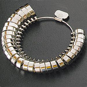 平打リングゲージ リングゲージ おすすめ 指輪 サイズ 測定 計測 測る ゲージ サイズ直し 調整|loupe