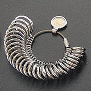 甲丸リングゲージ リングゲージ リングゲージ棒 おすすめ 指輪 サイズ 計測 測る 測定 ゲージ サイズ直し 調整|loupe