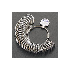 内甲丸リングゲージ リングゲージ おすすめ 指輪 サイズ 計測 測る 測定 ゲージ サイズ直し 調整 loupe