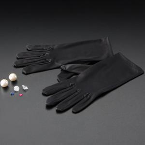 高級 黒手袋 宝石用 手袋 ジュエリー クリーナー クロス 宝石鑑定|loupe
