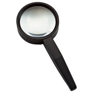 ルーペ 虫眼鏡 拡大鏡 非球面 高倍率ハンドルーペ AS-12 5倍 55mm|loupe