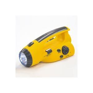 手回し 充電 ラジオ LED 懐中電灯 手動 発電 ハンディライト 防災グッズ 携帯充電 震災 非常用 災害対策