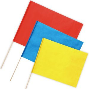 安価な不織布製特大旗が新登場!不織布製だからハサミや絵の具で自由に加工できる!サイズ:旗/800×6...