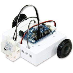 組み立て、組み替えが簡単にできるロボットカー。 ■セット内容:モーター付ロボット台座×1、スタディー...