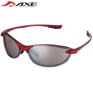 スポーツサングラス UV カット 紫外線対策 グッズ スポーツ アックス ゴルフ 紫外線カット99.9%スペックの画像
