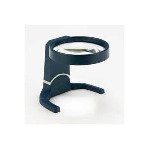 ルーペ スタンドルーペ 80mm 4倍 首振り傾斜型 拡大鏡 スタンド式 コイル製 ルーペ スタンド|loupe