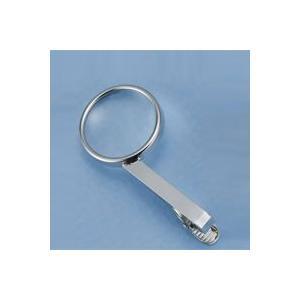 メンズ ネクタイピン 虫眼鏡 ネクタイピンルーペW 6倍 ネクタイピンタイプ 21mm A2591 carton カートン|loupe