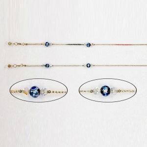 メガネチェーン 細紐とんぼ玉 レディース おしゃれ かわいい 日本製 メンズ 男性用 女性用 眼鏡チェーン loupe
