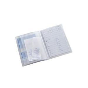 健康保険証ファイル カードタイプ ファイル 健康保険証入れ 診察券 領収書 事務用品 カードホルダー カードケース カバー 収納 ポケット デビカ|loupe