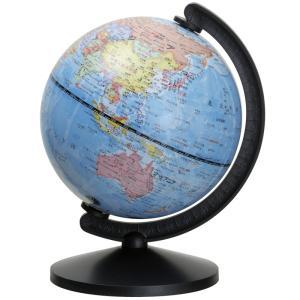 地球儀 球径13cm 行政図 グローバ地球儀13 子供用 インテリア 学習 入学祝い コンパクト 軽い デビカ|loupe