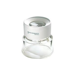 ルーペ 虫眼鏡 ワイド スタンドルーペ 8倍 25mm 写真や印刷のチェック用 1153 ルーペ スタンド 卓上 拡大鏡 スタンド ルーペ エッシェン|loupe