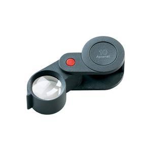 ルーペ 虫眼鏡 精密 繰り出しルーペ 10倍 23mm 工業用精密検査用 118210 エッシェンバッハ|loupe
