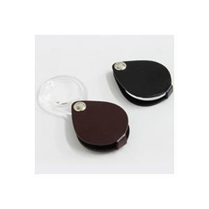 ルーペ 虫眼鏡 携帯用 本革製ルーぺ クラシック 丸30mm ポケットルーペ 6倍 エッシェンバッハ|loupe