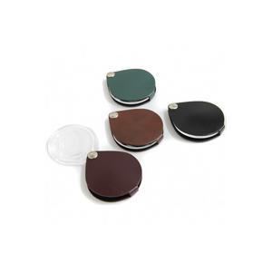 ルーペ 虫眼鏡 携帯用 本革製ルーぺ クラシック 丸60mm ポケットルーペ 3.5倍 エッシェンバッハ|loupe