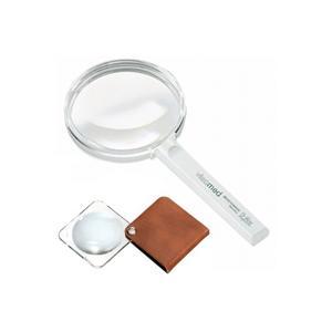 ルーペ 虫眼鏡 ルーペ ギフトセット gift 手持ちルーペ2.25 と ポケットルーペ 3.5倍 G6BW エッシェンバッハ|loupe