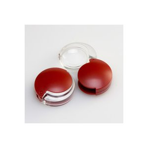 虫眼鏡 拡大鏡 非球面 ポケットルーペ 35mm 4倍 携帯用 モビレント 1710-14 非球面ポケットルーペ 35mm 4倍 モビレント 1710|loupe