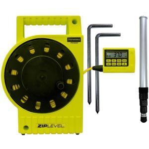 デジタル水盛器 高低差測定器 ジップレベルプロ2000 Zip Level Pro2000 阪神交易 テクニディア デジタル 水盛器 レーザー・水盛管|loupe