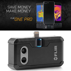 赤外線サーモグラフィ フリアー スマホ iPhone iPad iOS Android FLIR One Pro FLIR 赤外線サーモグラフィカメラ|loupe