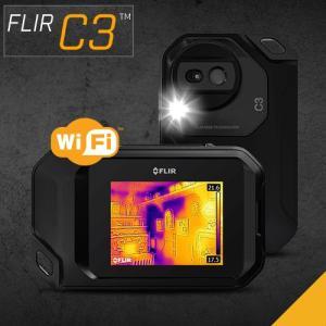 赤外線サーモグラフィ コンパクト フリアー FLIR C3 WiFi対応 温度計測 赤外線サーモグラフィカメラ パソコン iPad 日本正規品|loupe