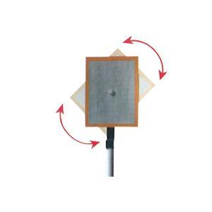 電子計測器 電子計量器 テスター トゥルーパルス用 アタッチメント スーパーリフレクト100 高輝度プリズム反射板 回転式 SRT-0100|loupe