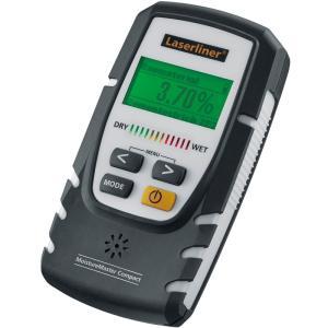 水分計 モイスチャーマスターコンパクト Laserliner UM082333A UMAREX 乾湿チェック 測定器 木材 資材 建築 石膏 メンテ|loupe