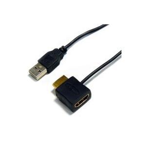HDMI変換アダプター HORIC HDMI電源アダプタ HDMI標準オス・メス-USB標準オスコネクタ ホーリック
