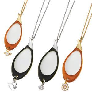ルーペ 虫眼鏡 おしゃれ ペンダントルーペ 拡大鏡 3倍 おすすめ 女性 レディース プレゼント ネックレス 携帯 持ち運び|loupe