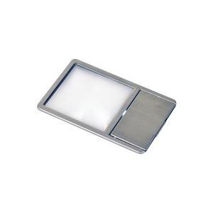 ケンコー 極薄 カード型 拡大鏡 LED付き KCL-025S KENKO|loupe