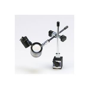 LED付ルーペ 虫眼鏡 LEDライト付 小型 スタンドルーペ 16倍 マグネットタイプ ルーペ スタンド|loupe