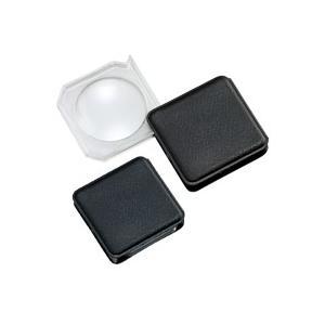 ルーペ 虫眼鏡 携帯用拡大鏡 ポケットルーペ M-404 3倍 43mm|loupe