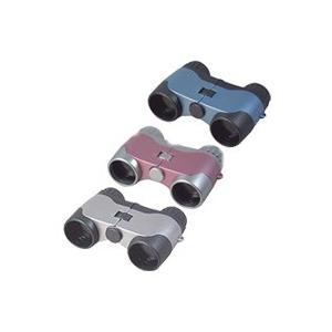 オペラグラス 3倍 28mm 双眼鏡 コンパクト スポーツ コンサート ライブ 観戦 観劇 ペット400 シルバー|loupe