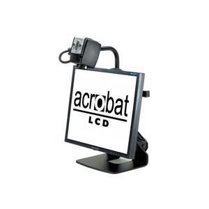 ルーペ 据え置き型拡大読書器 Acrobat LCD アクロバットLCD 大画面19インチ 最大68倍ズーム 読書|loupe