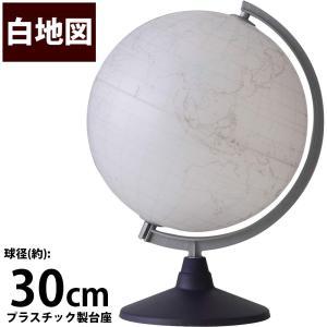 地球儀 入学祝い 小学校 子供用 学習 インテリア 白地図30 マーカーで書き込める 球径30cm オルビス|loupe