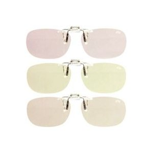 PC用クリップグラス 青色光線軽減レンズ エロイコ ナチュレ NR-28 パソコンメガネ|loupe