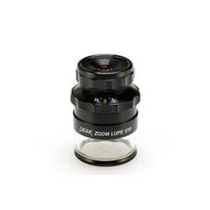 虫眼鏡 スケールルーペ ピーク PEAK ズームスケール ルーペ 8-16倍 0.1mmメモリ 検品 検査 測量 スケール付きルーペ スケール 東海産|loupe