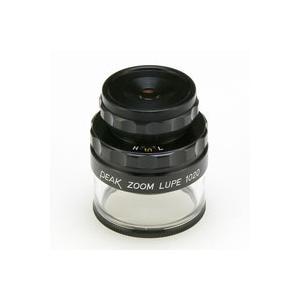 虫眼鏡 スケールルーペ ピーク(PEAK) ズーム スケール ルーペ 10-20倍 0.1mmメモリ 検品 検査 測量 スケール付きルーペ スケール|loupe