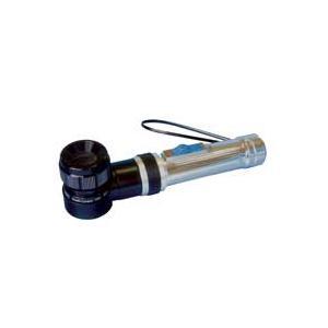 ルーペ スケールルーペ ライト付 10倍L 高倍率ルーペ SCLI-10 検品 検査 測量 スケール付きルーペ スケール|loupe