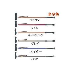 杖 ステッキ ウォーキングステッキ 杖 カイノス SOFT-GA 長さ調節式の杖 1本|loupe
