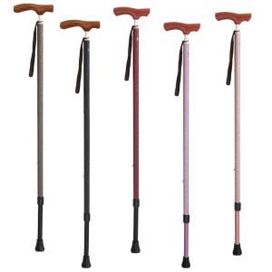杖 軽量 介護 おしゃれ 女性 歩行杖 ステッキ カイノス 長さ調節杖 シナノ(SINANO) 男女兼用 和彩 WASAI|loupe