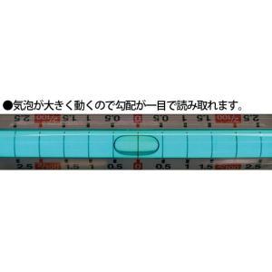 角度計 水平器 水準器 ブルーレベル 勾配用一...の詳細画像4