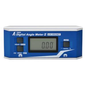 デジタルアングルメーター II 防塵防水 マグネット付 レベル 水平器 傾斜 角度 レベル 水平器 ...