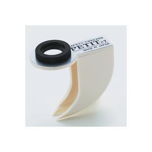 ピンセット 虫眼鏡 とげ抜きルーペ ST-30 7倍 12mm ルーペ付き ピンセット|loupe