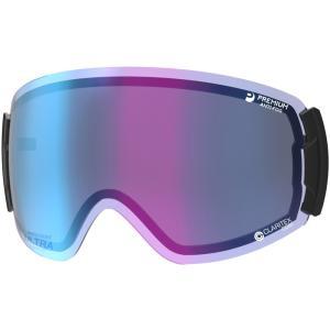 スキーゴーグル スペアレンズ LRV-4265 CUL ROVO用レンズ 調光 ULTRA ミラー 撥水 PAF レンズケース付き SWANS スワン|loupe