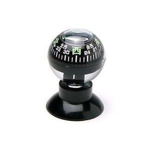方位磁石 球形 コンパス 吸盤タイプ サクション 880S コンパス キャンプ レジャー 登山 方位磁針 アウトドア 防災|loupe