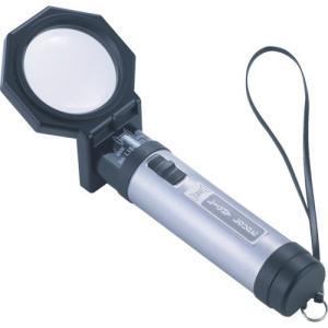 手持ちルーペ 照明付 リーフ 新ライトルーペ [LI-15N] LI15N 販売単位:1 送料無料 loupe